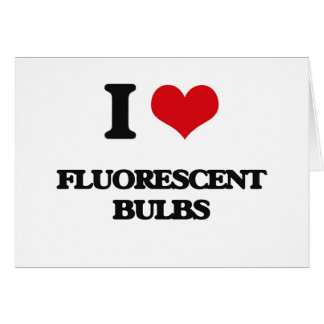 AMO bulbos fluorescentes Tarjetas