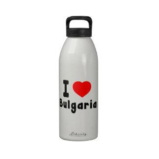 Amo Bulgaria Botellas De Beber