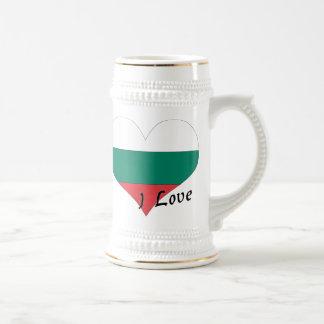 Amo Bulgaria Jarra De Cerveza