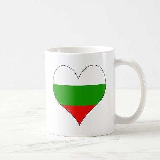 Amo Bulgaria Taza Básica Blanca