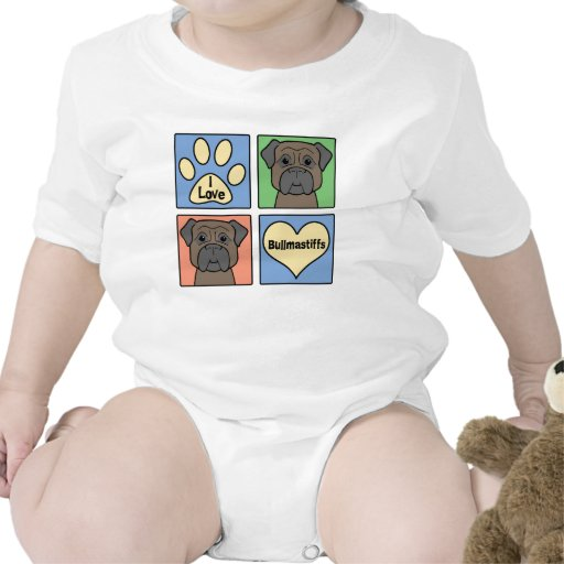 Amo Bullmastiffs Traje De Bebé