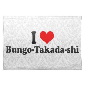 Amo Bungo-Takada-shi, Japón Mantel Individual