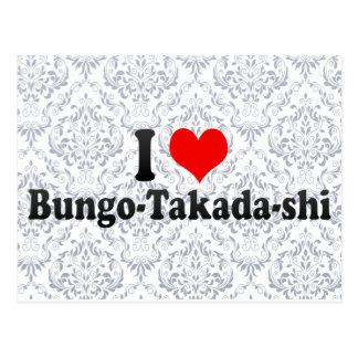 Amo Bungo-Takada-shi, Japón Tarjetas Postales