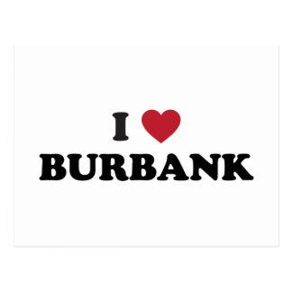 Amo Burbank California Postales