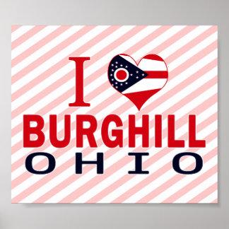 Amo Burghill, Ohio Impresiones