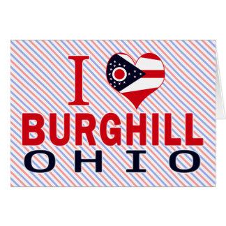 Amo Burghill, Ohio Felicitacion