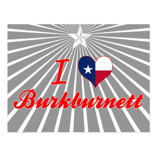 Amo Burkburnett, Tejas Tarjetas Postales