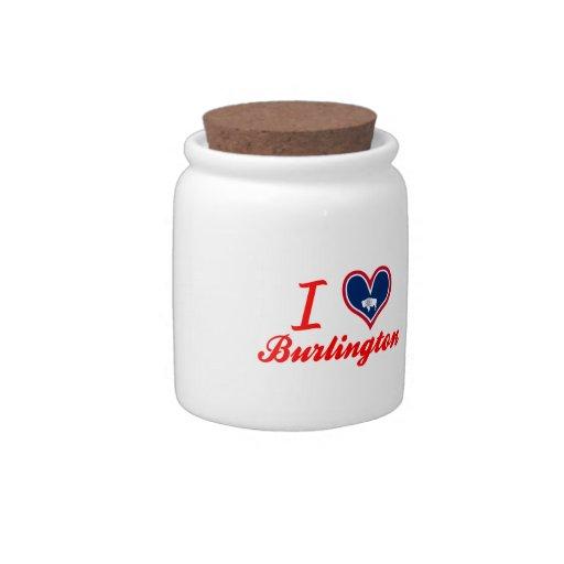 Amo Burlington, Wyoming Jarra Para Caramelo