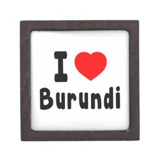 Amo Burundi Cajas De Recuerdo De Calidad