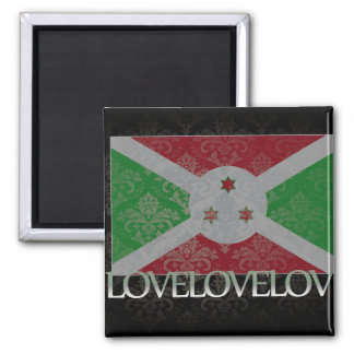 Amo Burundi fresco Imán Para Frigorífico