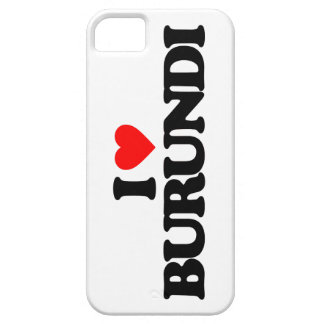 AMO BURUNDI iPhone 5 CARCASA