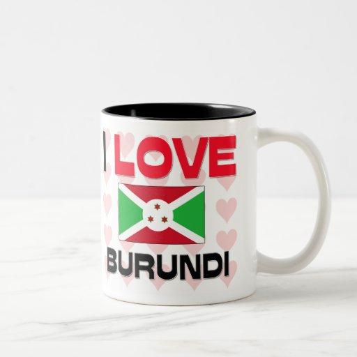 Amo Burundi Taza De Café
