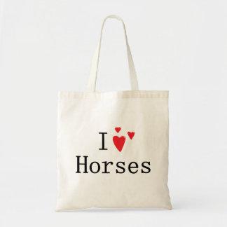 Amo caballos bolsas