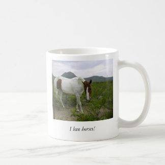 ¡Amo caballos! Taza