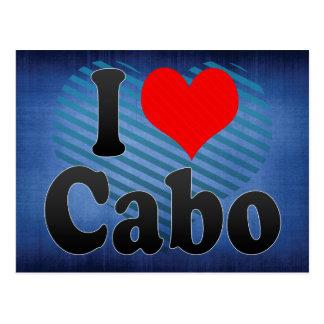 Amo Cabo el Brasil Eu Amo O Cabo el Brasil Tarjetas Postales