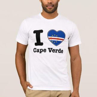 Amo Cabo Verde Playera