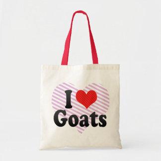 Amo cabras bolsa tela barata