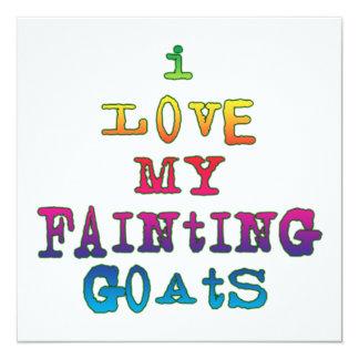 Amo cabras de desfallecimiento