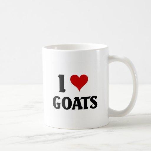 Amo cabras taza clásica