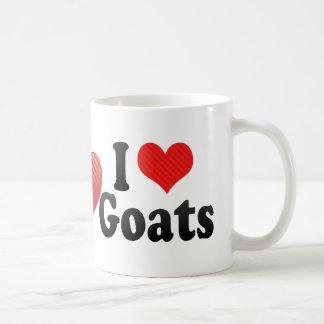 Amo cabras taza de café
