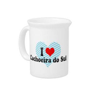 Amo Cachoeira do Sul, el Brasil Jarra De Beber