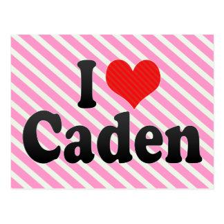 Amo Caden Tarjetas Postales