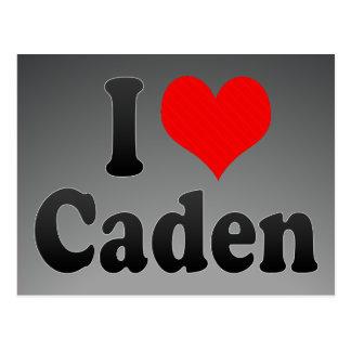Amo Caden Tarjeta Postal