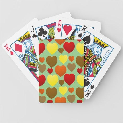 Amo caída baraja cartas de poker