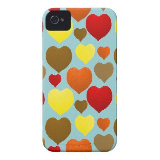 Amo caída Case-Mate iPhone 4 fundas