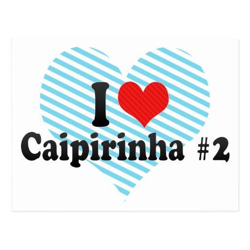Amo Caipirinha #2 Postal