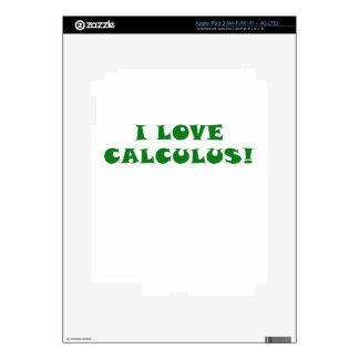 Amo cálculo iPad 3 skins