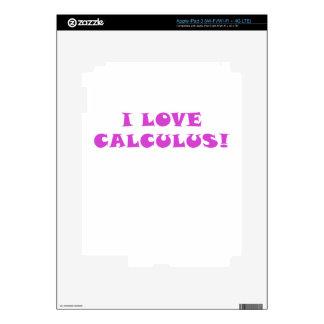 Amo cálculo pegatina skin para iPad 3