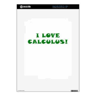 Amo cálculo skin para el iPad 2