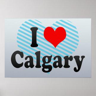 Amo Calgary Canadá Posters