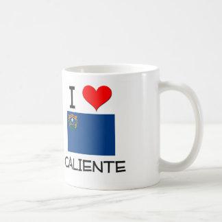 Amo Caliente Nevada Taza De Café