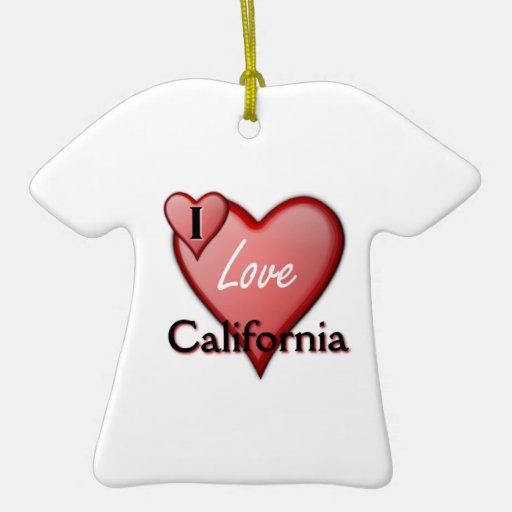 Amo California Adornos
