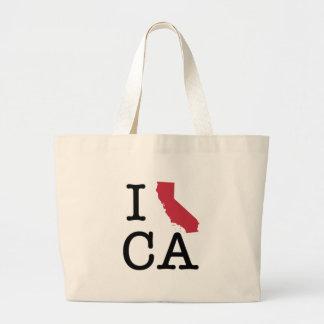 Amo California Bolsa Tela Grande