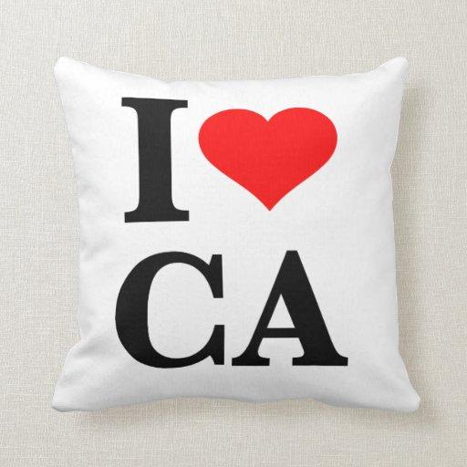 Amo California Cojines