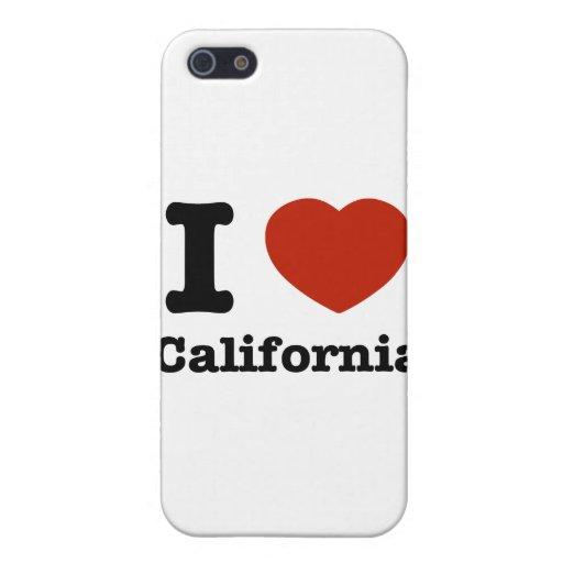 Amo California iPhone 5 Fundas