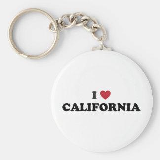 Amo California Llaveros