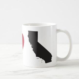 Amo California Taza De Café