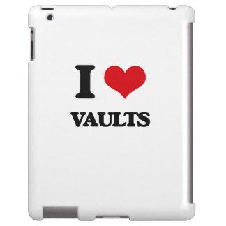 Amo cámaras acorazadas funda para iPad