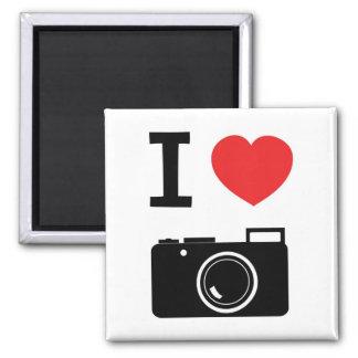 Amo cámaras imán cuadrado