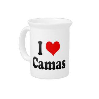 Amo Camas España Yo Encanta Camas España Jarras De Beber