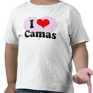 Amo Camas España Yo Encanta Camas España Camiseta
