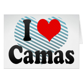 Amo Camas España Yo Encanta Camas España Tarjetas