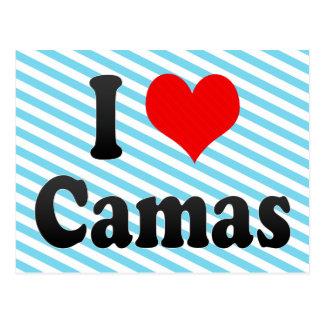 Amo Camas España Yo Encanta Camas España Tarjetas Postales