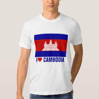 Amo Camboya Camisas