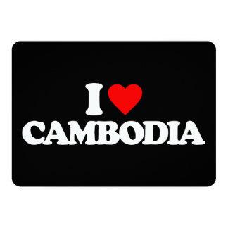 AMO CAMBOYA INVITACIÓN 12,7 X 17,8 CM