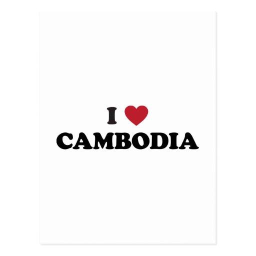 Amo Camboya Postales
